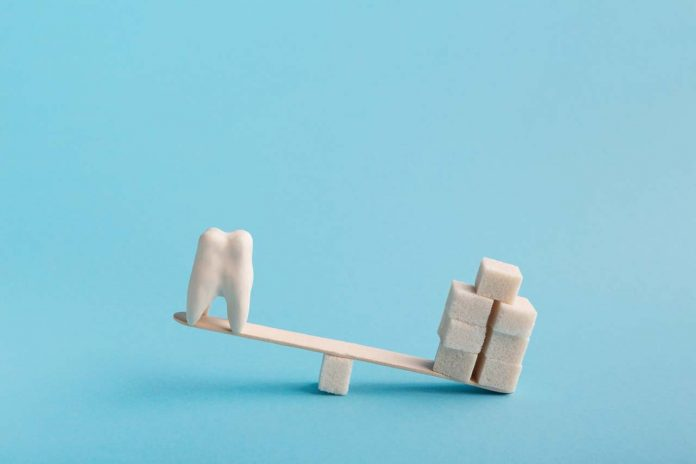 Sugar and tooth cavity