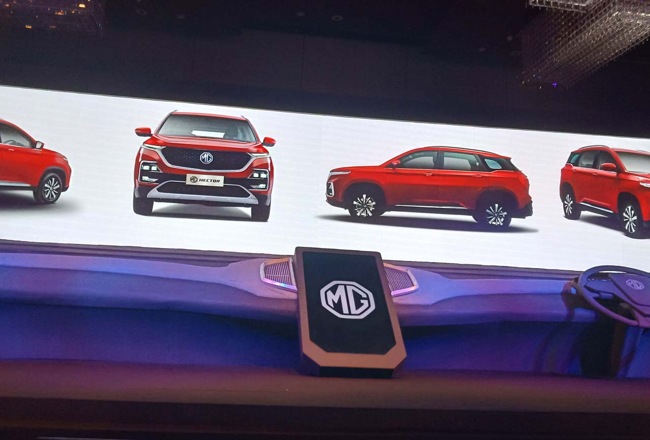 The future of cars is here with MG Hector: The Internet Car with inbuilt iSmart Next Gen 2