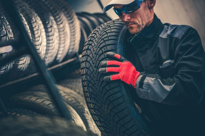 auto service tire replacement