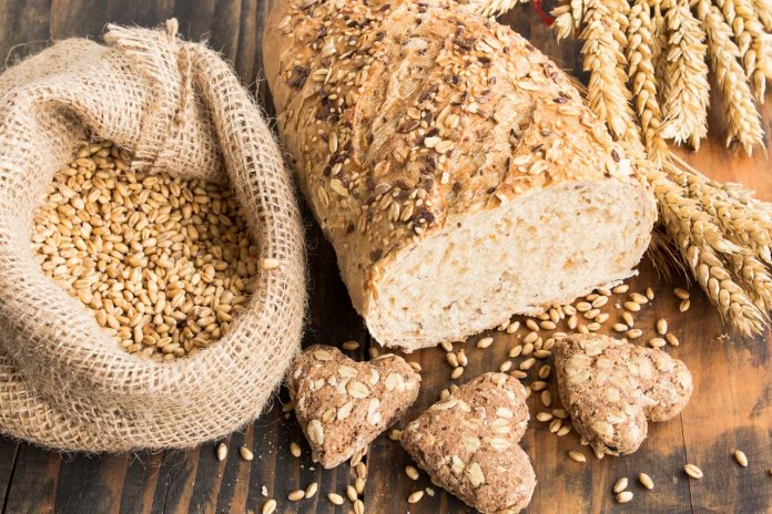 wholegrain wheat bread