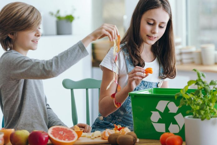 girl-throwing-out-fruits-waste