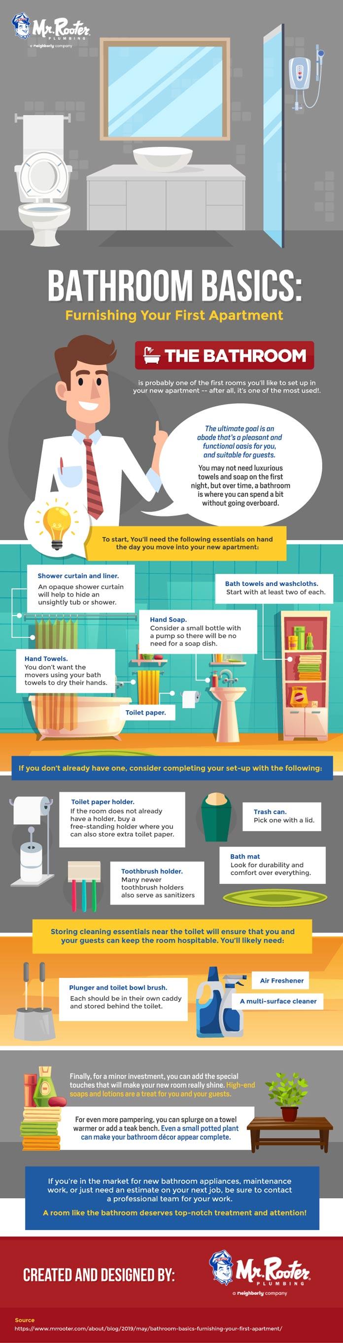 Bathroom Basics: Furnishing Your First Apartment 4