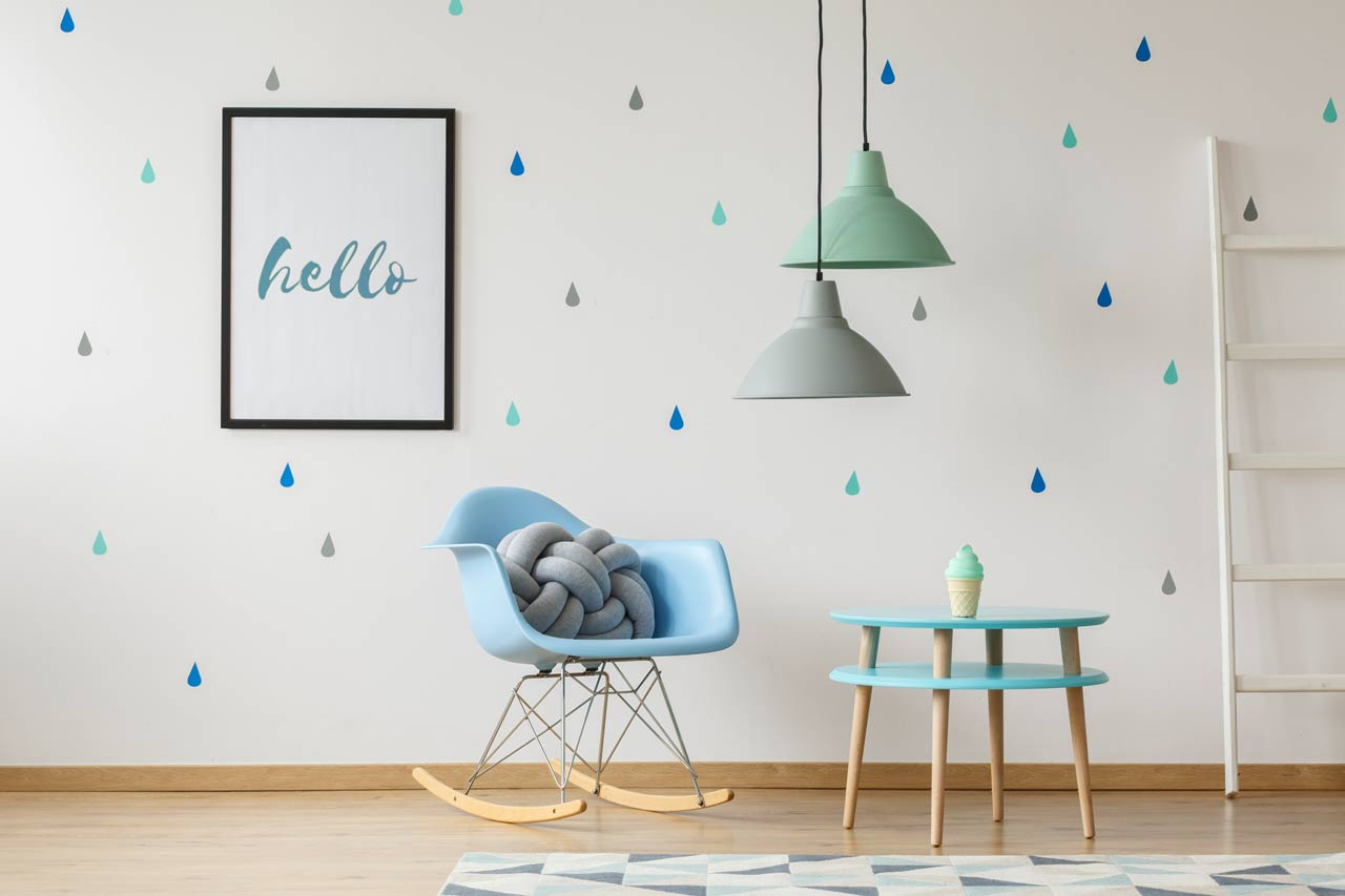 Awesome ideas to decorate your boring walls using wall stickers 10