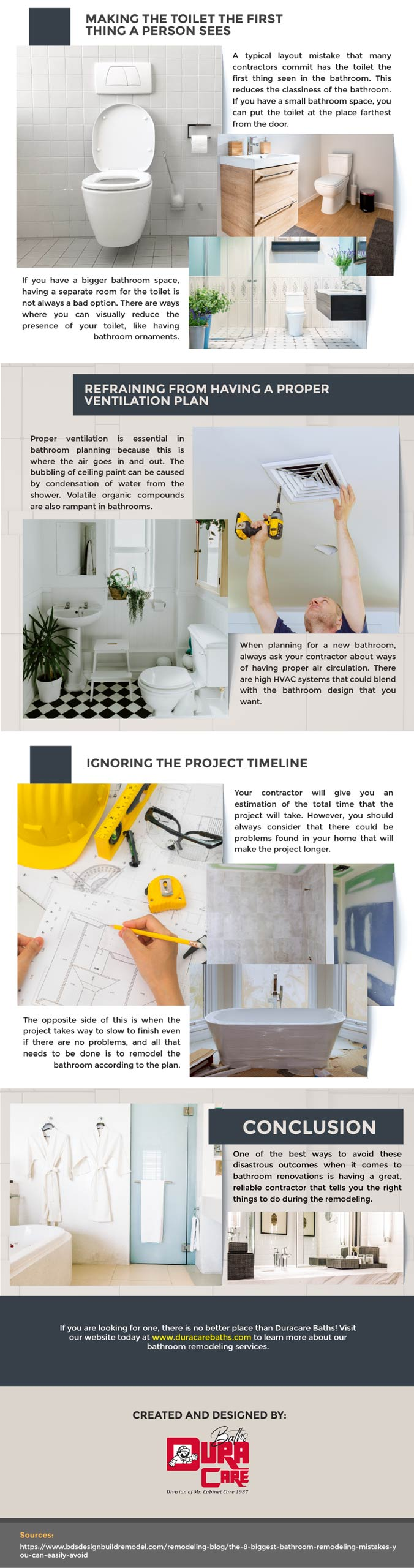 Infographic: Top 5 bathroom remodeling mistakes 8