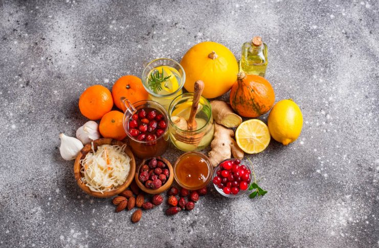Healthy foods for Immunity boosting