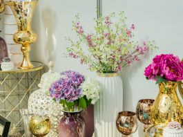 Using Flower in home decor