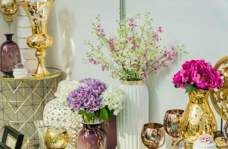 Using Flower in home decor