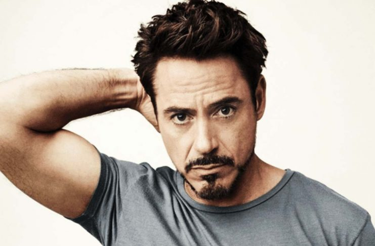 Tony Stark Beard Style