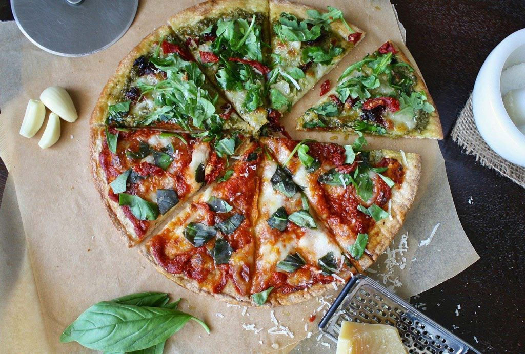 pizza healthy toppings
